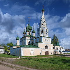 "photo ""Uglich. Church of Christmas of Ioann Predtechi"""