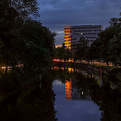 """фото """"Берлин, закатный луч..."""""""