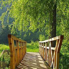 """фото """"Мост дървен"""""""