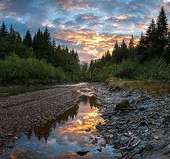 """фото """"Вечер на реке Прут"""""""