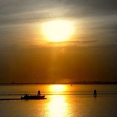 "photo ""Orange lagoon"""