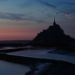 """photo """"Mont Saint Michel"""""""