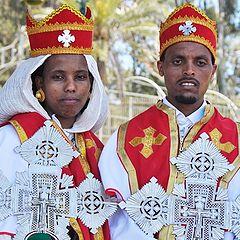 """фото """"Суданские молодожены."""""""