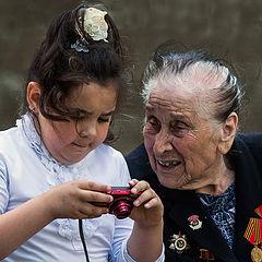 """фото """"Смотри,бабуля..."""""""
