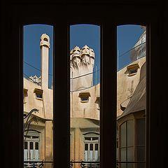 "фото ""Барселона. Дом Мила."""