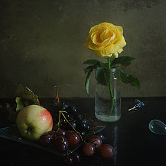 "фото ""С желтой розой"""