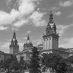 """фото """"Королевский дворец в Барселоне"""""""