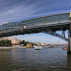"""фото """"Москва. Андреевский мост"""""""