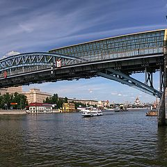 "photo ""Moscow. Andreevsky Bridge"""