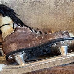 "photo ""old skates"""