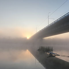 "photo ""bridge fog"""