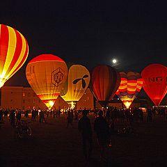 """photo """"Balloons At Night"""""""