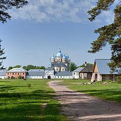 "photo ""island Konevets. man's monastery."""
