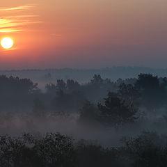 "фото ""Туманный восход"""