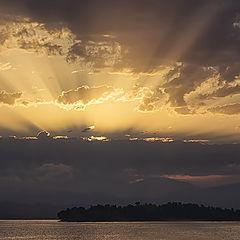 "фото ""Рассвет на о. Корфу"""