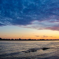 "photo ""River's sinset"""