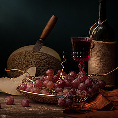 "фото ""Дыня и виноград"""