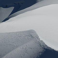 """photo """"Snow dunes"""""""