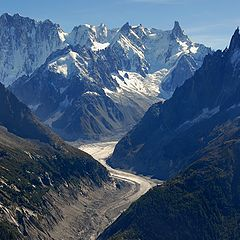 """photo """"View on Mer De Glace"""""""