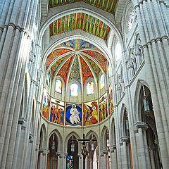 """photo """"Almudena Cathedral"""""""