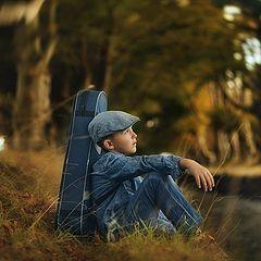 "photo ""Young Musician II"""