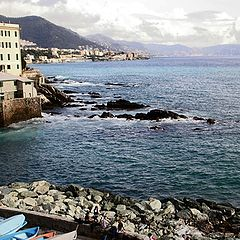 "photo ""Genoa, Boccadasse"""
