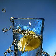 """photo """"Lemon splash"""""""