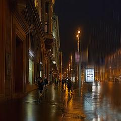 """фото """"Ноябрь, вечер, дождь"""""""