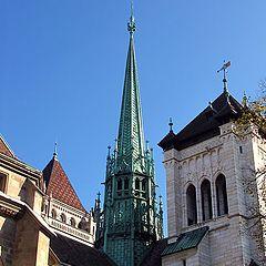 """фото """"Женева. Собор Святого Петра"""""""