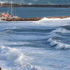 """photo """"heavy sea"""""""