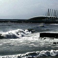 """photo """"heavy waves"""""""