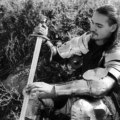 "фото ""Рыцарь на привале"""