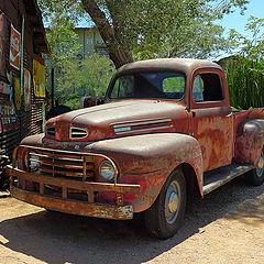 """photo """"Rusty pick-up"""""""