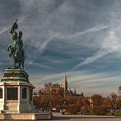 """photo """"Vienna. Heldenplatz"""""""