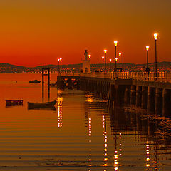 "фото ""Sunset Pier"""