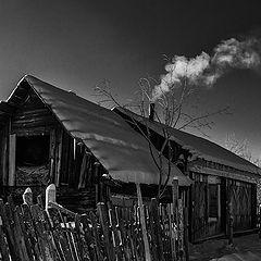 """фото """"Домик в деревне"""""""