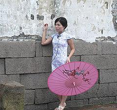 "photo ""Pink umbrella"""