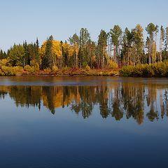 "фото ""Осенью на реке Ия"""