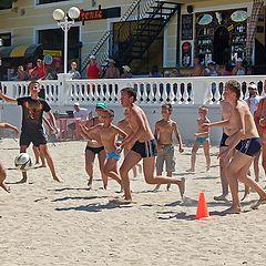 """фото """"Волейбол на пляже"""""""