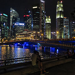"photo ""Singapore at night"""