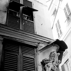 "photo ""historical center in Genoa"""