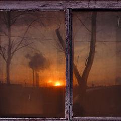 """фото """"Окно на закат"""""""