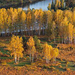 """фото """"Осенняя зарисовка...на берегах реки Ия."""""""