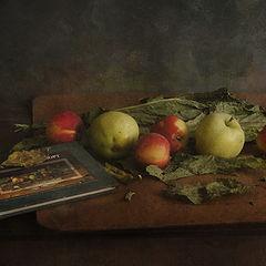 """фото """"Яблоки и листья"""""""