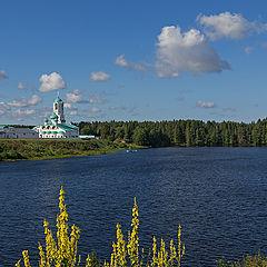 "photo ""On the shores of Lake Roshchinsky"""