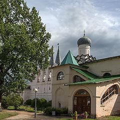 "photo ""Corner of Tikhvin Monastery"""