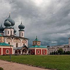 "photo ""Tikhvin Assumption Monastery"""