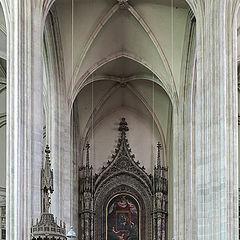"""photo """"Interior Minoritenkirche"""""""