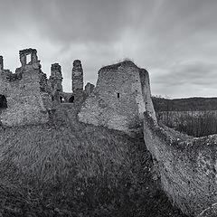 """photo """"Руины средневекового замка"""""""