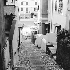 "photo ""Boccadasse, a lane"""